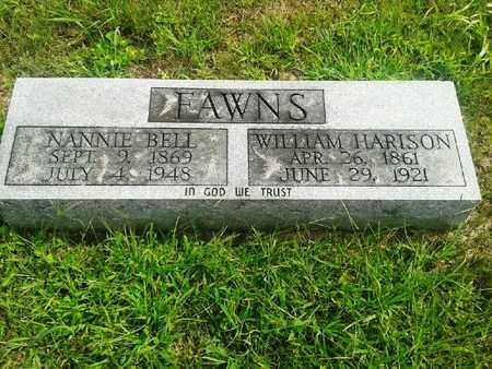 FAWNS, WILLIAM HARRISON - Fleming County, Kentucky | WILLIAM HARRISON FAWNS - Kentucky Gravestone Photos