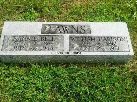 FAWNS, NANNIE BELL - Fleming County, Kentucky | NANNIE BELL FAWNS - Kentucky Gravestone Photos