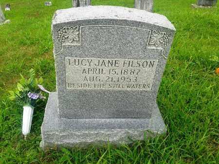 FILSON, LUCY JANE - Fleming County, Kentucky | LUCY JANE FILSON - Kentucky Gravestone Photos
