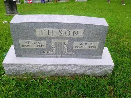 FILSON, MARY F - Fleming County, Kentucky | MARY F FILSON - Kentucky Gravestone Photos