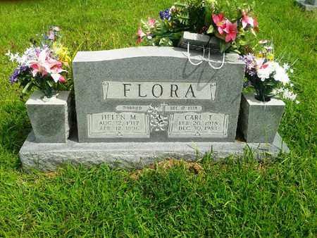 FLORA, CARL T - Fleming County, Kentucky | CARL T FLORA - Kentucky Gravestone Photos