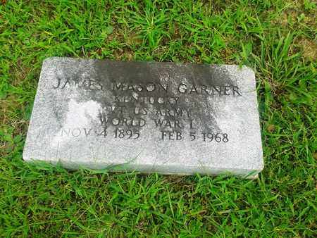 GARNER (VETERAN WWI), JAMES MASON - Fleming County, Kentucky | JAMES MASON GARNER (VETERAN WWI) - Kentucky Gravestone Photos