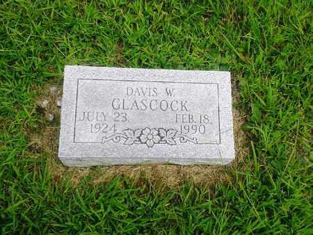 GLASCOCK, DAVIS W - Fleming County, Kentucky   DAVIS W GLASCOCK - Kentucky Gravestone Photos