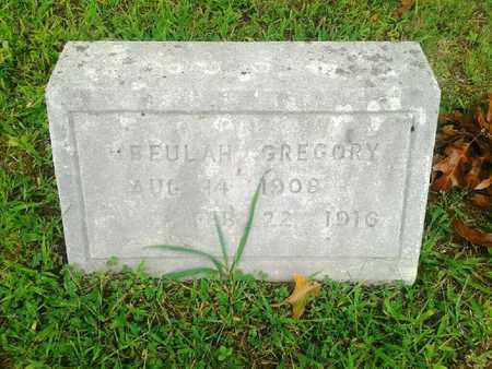 GREGORY, BEULAH - Fleming County, Kentucky | BEULAH GREGORY - Kentucky Gravestone Photos
