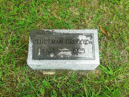 GREGORY, THURMAN - Fleming County, Kentucky   THURMAN GREGORY - Kentucky Gravestone Photos