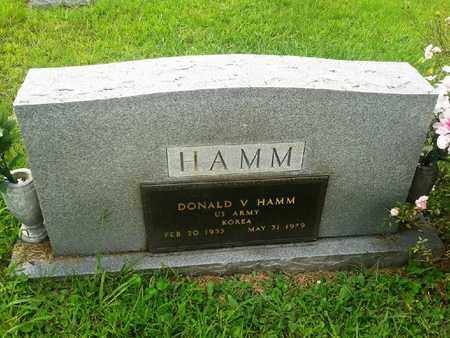HAMM (VETERAN KOR), DONALD V - Fleming County, Kentucky | DONALD V HAMM (VETERAN KOR) - Kentucky Gravestone Photos