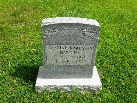 HAWKINS, EMARINE - Fleming County, Kentucky   EMARINE HAWKINS - Kentucky Gravestone Photos