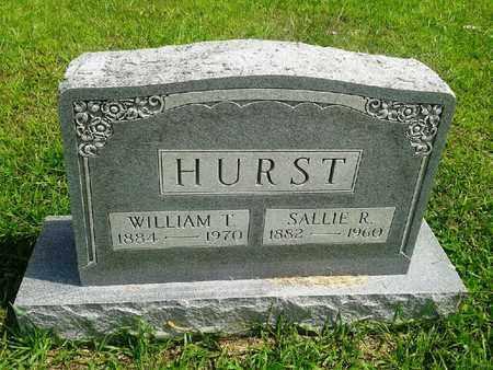 HURST, SALLIE R - Fleming County, Kentucky | SALLIE R HURST - Kentucky Gravestone Photos