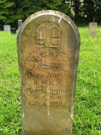 JAMISON, MARTHA - Fleming County, Kentucky   MARTHA JAMISON - Kentucky Gravestone Photos