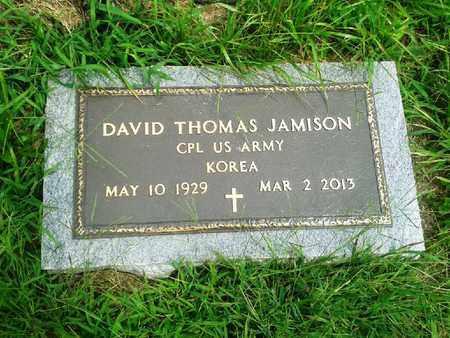 JAMISON (VETERAN KOR), DAVID THOMAS - Fleming County, Kentucky   DAVID THOMAS JAMISON (VETERAN KOR) - Kentucky Gravestone Photos