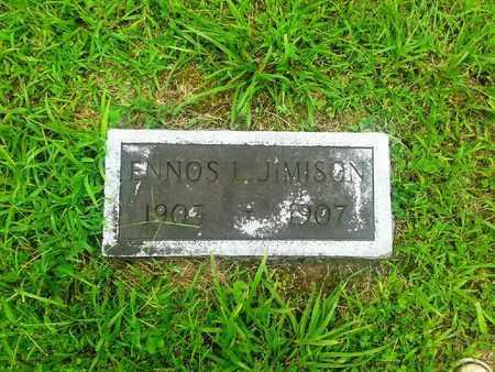 JIMISON, ENNOS L - Fleming County, Kentucky   ENNOS L JIMISON - Kentucky Gravestone Photos