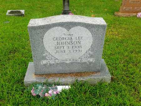 JOHNSON, GEORGIA LEE - Fleming County, Kentucky | GEORGIA LEE JOHNSON - Kentucky Gravestone Photos