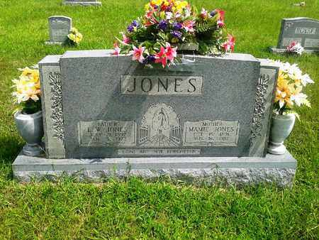 JONES, MAMIE - Fleming County, Kentucky   MAMIE JONES - Kentucky Gravestone Photos