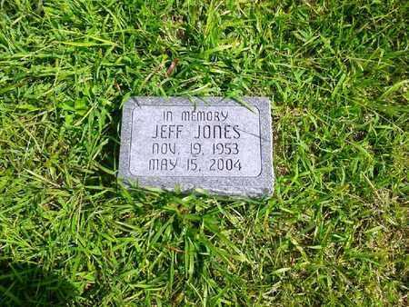 JONES, JEFF - Fleming County, Kentucky | JEFF JONES - Kentucky Gravestone Photos