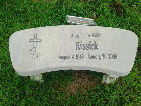 KISSICK, ANNA LOUISE - Fleming County, Kentucky   ANNA LOUISE KISSICK - Kentucky Gravestone Photos
