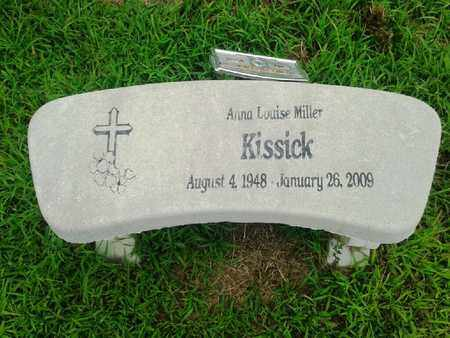MILLER KISSICK, ANNA LOUISE - Fleming County, Kentucky | ANNA LOUISE MILLER KISSICK - Kentucky Gravestone Photos