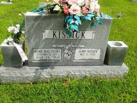 FLORA KISSICK, RUBY MAE - Fleming County, Kentucky | RUBY MAE FLORA KISSICK - Kentucky Gravestone Photos