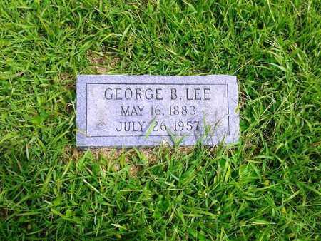 LEE, GEORGE B - Fleming County, Kentucky | GEORGE B LEE - Kentucky Gravestone Photos