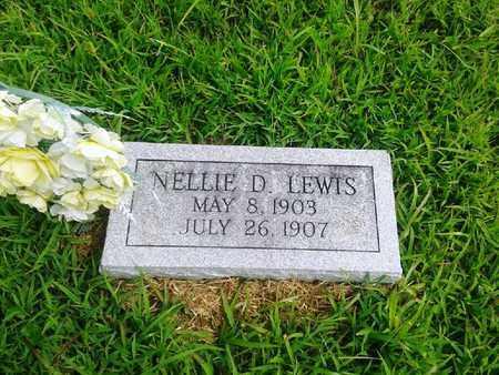 LEWIS, NELLIE D - Fleming County, Kentucky   NELLIE D LEWIS - Kentucky Gravestone Photos