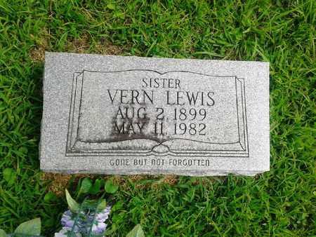 LEWIS, VERN - Fleming County, Kentucky   VERN LEWIS - Kentucky Gravestone Photos