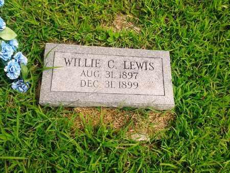 LEWIS, WILLIE C - Fleming County, Kentucky | WILLIE C LEWIS - Kentucky Gravestone Photos