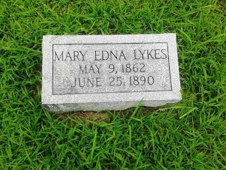 LYKES, MARY EDNA - Fleming County, Kentucky | MARY EDNA LYKES - Kentucky Gravestone Photos
