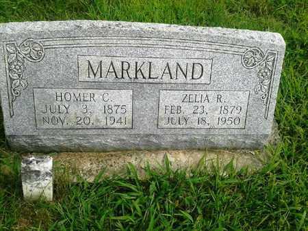 MARKLAND, HOMER C - Fleming County, Kentucky | HOMER C MARKLAND - Kentucky Gravestone Photos