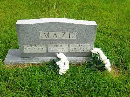 MAZE, RUTH - Fleming County, Kentucky | RUTH MAZE - Kentucky Gravestone Photos
