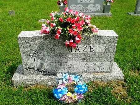 MAZE, VERNIE A - Fleming County, Kentucky | VERNIE A MAZE - Kentucky Gravestone Photos