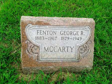 MCCARTY, GEORGE R - Fleming County, Kentucky   GEORGE R MCCARTY - Kentucky Gravestone Photos