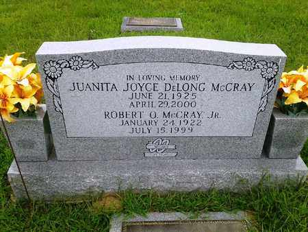 DELONG MCCRAY, JUANITA JOYCE - Fleming County, Kentucky | JUANITA JOYCE DELONG MCCRAY - Kentucky Gravestone Photos