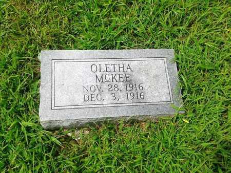 MCKEE, OLETHA - Fleming County, Kentucky | OLETHA MCKEE - Kentucky Gravestone Photos