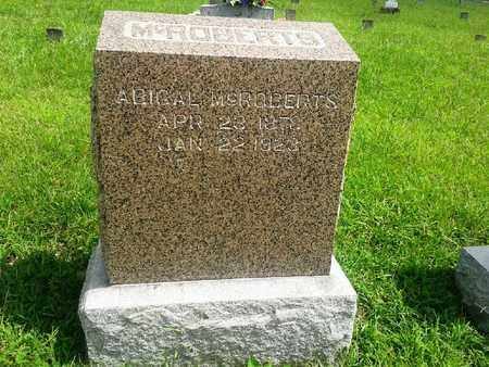 MCROBERTS, ABIGAL - Fleming County, Kentucky | ABIGAL MCROBERTS - Kentucky Gravestone Photos