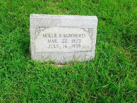 MCROBERTS, MOLLIE B - Fleming County, Kentucky | MOLLIE B MCROBERTS - Kentucky Gravestone Photos