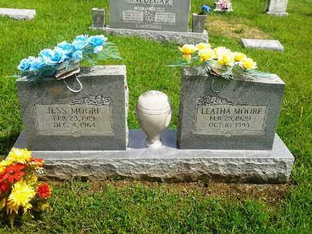 MOORE, JESS - Fleming County, Kentucky | JESS MOORE - Kentucky Gravestone Photos