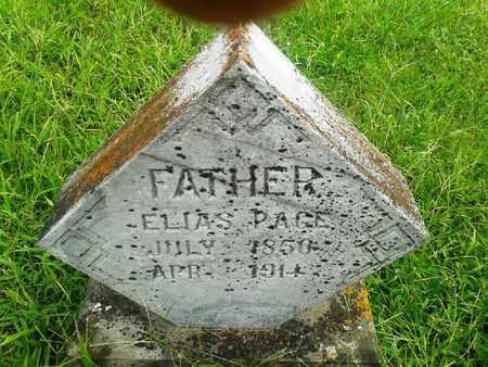 PAGE, ELIAS - Fleming County, Kentucky | ELIAS PAGE - Kentucky Gravestone Photos