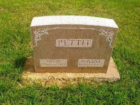 PETTIT, DELIA - Fleming County, Kentucky   DELIA PETTIT - Kentucky Gravestone Photos