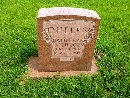 ATCHISON PHELPS, HATTIE MAE - Fleming County, Kentucky | HATTIE MAE ATCHISON PHELPS - Kentucky Gravestone Photos
