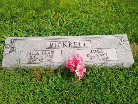 BLAIR PICKRELL, LULA - Fleming County, Kentucky | LULA BLAIR PICKRELL - Kentucky Gravestone Photos