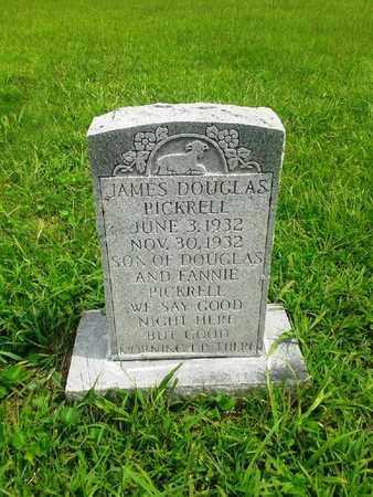 PICKRELL, JAMES DOUGLAS - Fleming County, Kentucky   JAMES DOUGLAS PICKRELL - Kentucky Gravestone Photos