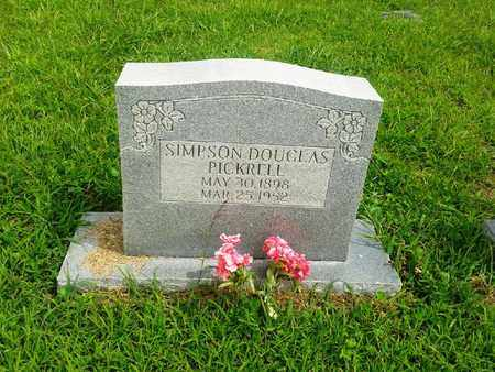 PICKRELL, SIMPSON DOUGLAS - Fleming County, Kentucky | SIMPSON DOUGLAS PICKRELL - Kentucky Gravestone Photos