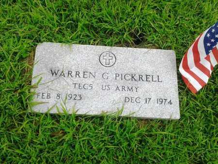 PICKRELL (VETERAN), WARREN G - Fleming County, Kentucky | WARREN G PICKRELL (VETERAN) - Kentucky Gravestone Photos