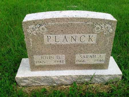 PLANCK, SARAH A - Fleming County, Kentucky | SARAH A PLANCK - Kentucky Gravestone Photos