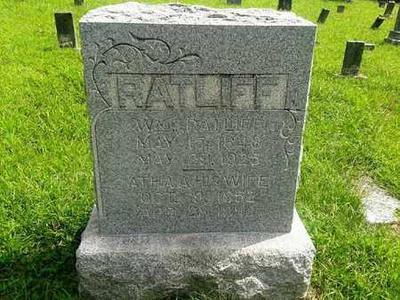 RATLIFF, ATHA A - Fleming County, Kentucky | ATHA A RATLIFF - Kentucky Gravestone Photos