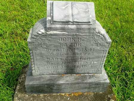 RAZOR, MARY E - Fleming County, Kentucky   MARY E RAZOR - Kentucky Gravestone Photos