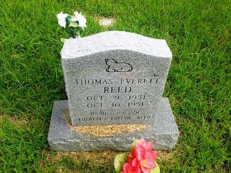 REED, THOMAS EVERETT - Fleming County, Kentucky | THOMAS EVERETT REED - Kentucky Gravestone Photos