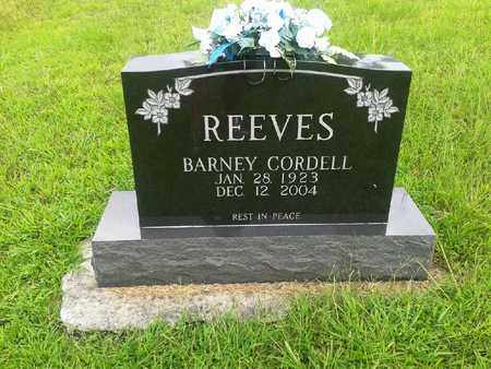 REEVES, BARNEY CORDELL - Fleming County, Kentucky | BARNEY CORDELL REEVES - Kentucky Gravestone Photos