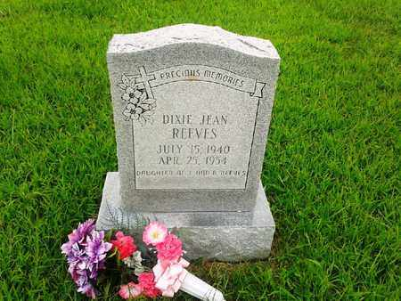 REEVES, DIXIE JEAN - Fleming County, Kentucky | DIXIE JEAN REEVES - Kentucky Gravestone Photos
