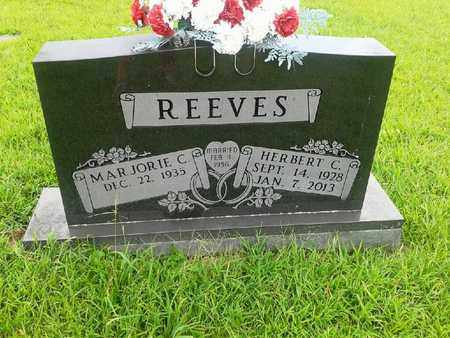 REEVES, HERBERT C - Fleming County, Kentucky | HERBERT C REEVES - Kentucky Gravestone Photos