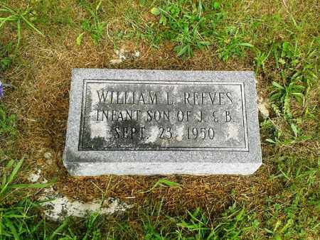 REEVES, WILLIAM L - Fleming County, Kentucky | WILLIAM L REEVES - Kentucky Gravestone Photos